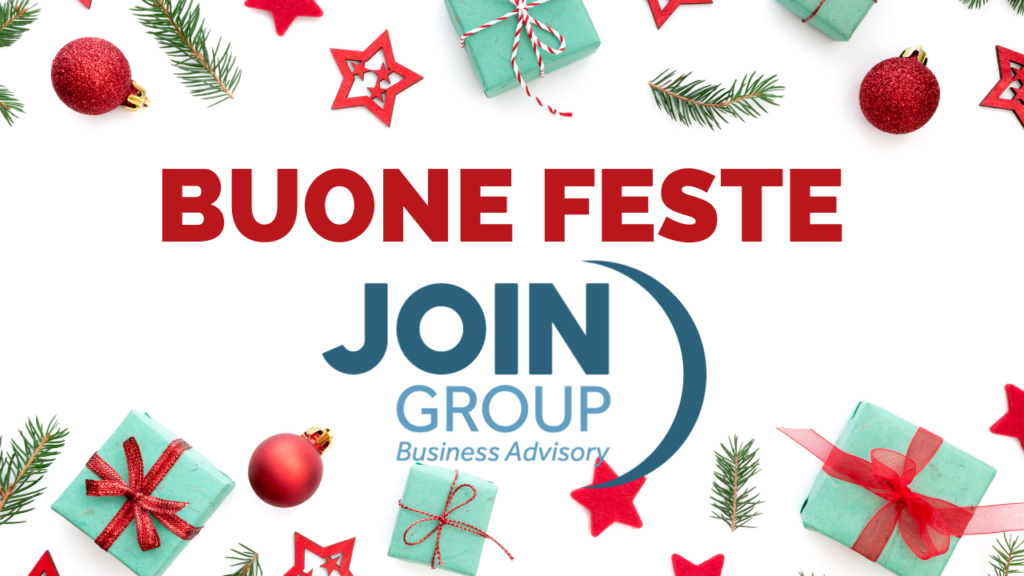 Buone Feste da Join Group