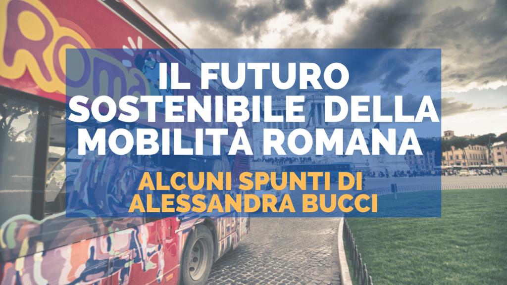 Il futuro sostenibile  della mobilità romana
