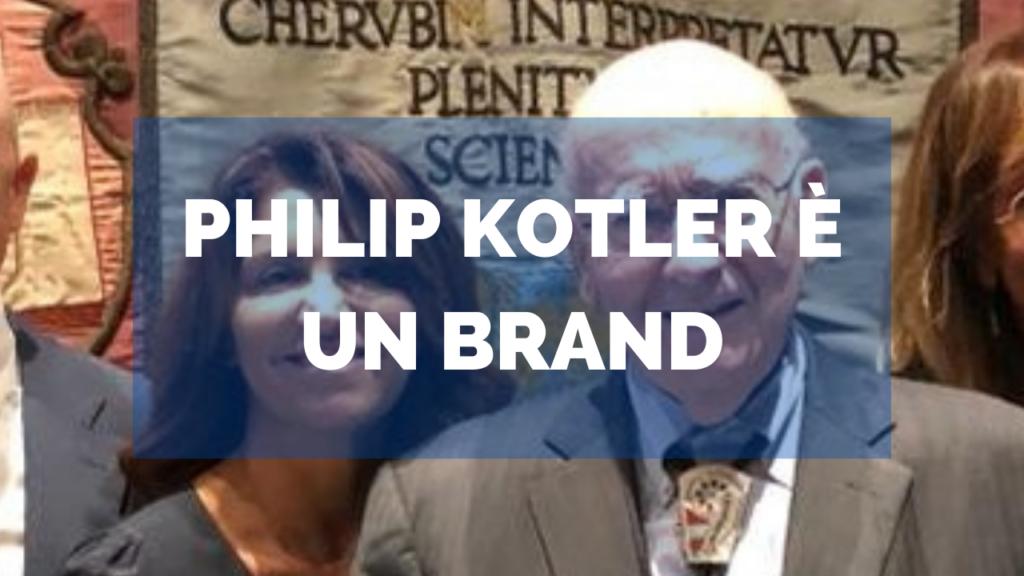 Philip Kotler è un BRAND
